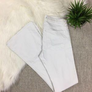 J Brand Martini White Jeans